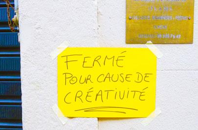 IMAGE - LA CRÉATIVITÉ- SÉRIE EN 3 ÉPISODES